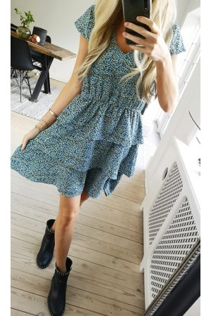 Zani Dress - Blue