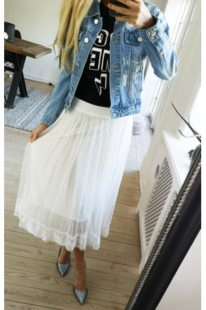 Ina Beauty Skirt - White