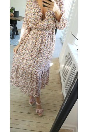 Rosa Long Dress - Light