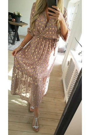 Kalia Long Dress - Rose