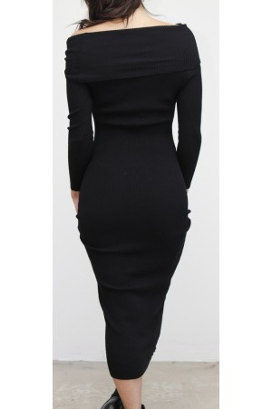 Raki Soft Dress - Black