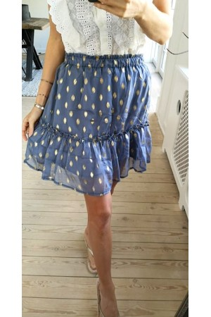 Liva Skirt - Jeans Blue