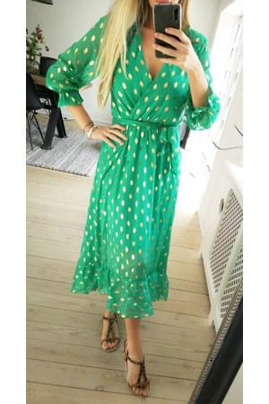 Tabi Dress - Green