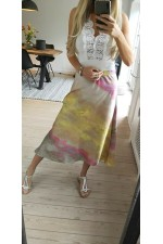 Mejsa Silk Skirt - Mix