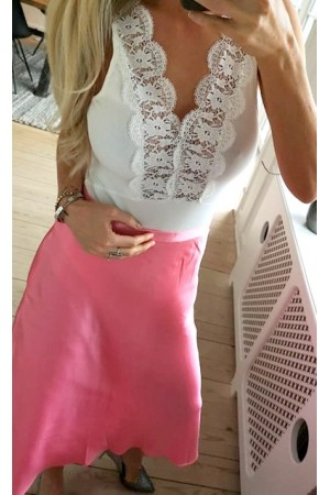 Dres Lace Body - White