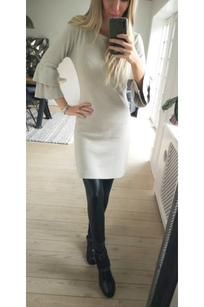 Mette Knit Dress - Beige