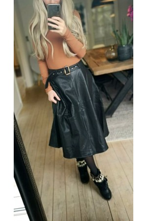 Vana Lovely Skirt - Black
