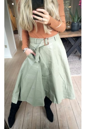 Vana Lovely Skirt - Dusty Green