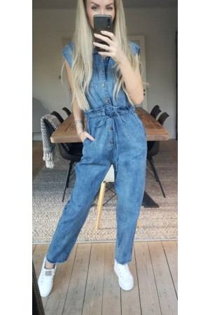 Lecti Denim Jumpsuit