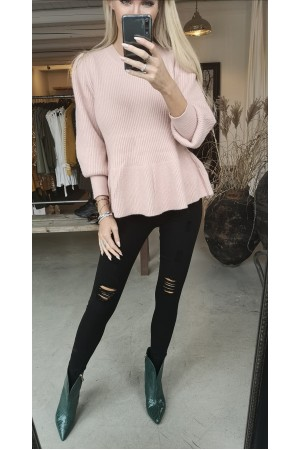 Melba Soft Knit - Rose
