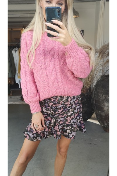Coral Soft Knit - Pink