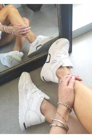 Vintage Soft Sneakers - White
