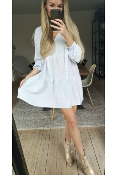 Paris Loose Dress - Baby Blue