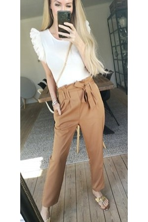 Lina Soft Pants - Camel