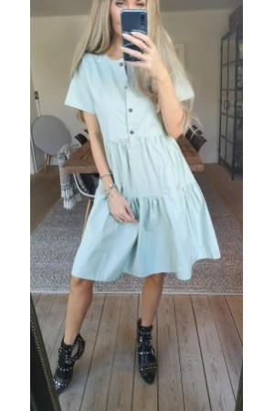 Kissa Beauty Dress - Pastel Green