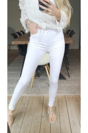 Rosa Soft Pants - White