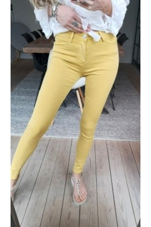 Rosa Soft Pants - Yellow