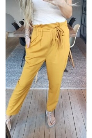 Lina Soft Pants - Yellow